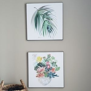Other - Botanical Painting Set: watercolor on wood